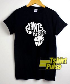 Giants Of Africa Be The Change t-shirt for men and women tshirt