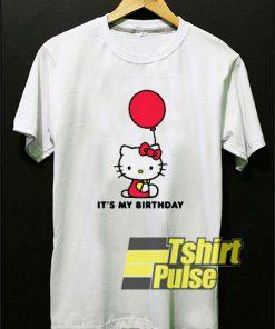 Hello Kitty It's My Birthday t-shirt for men and women tshirt