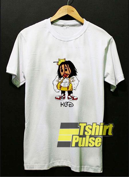J Cole KOD Disney Cartoon t-shirt for men and women tshirt