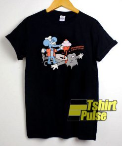 Johnny Cupcakes Itchy & Scratchy t-shirt for men and women tshirt