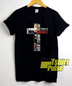 Little Bit Of Nirvana Cross t-shirt for men and women tshirt