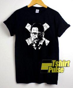 Malcolm X Hip Hop Novelty t-shirt for men and women tshirt