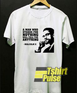 Malcolm X Quotes t-shirt for men and women tshirt