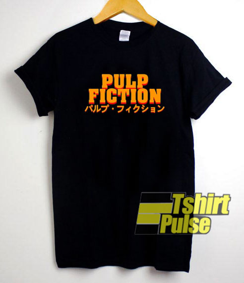 Mia Wallace Pulp Fiction Japanese t-shirt for men and women tshirt
