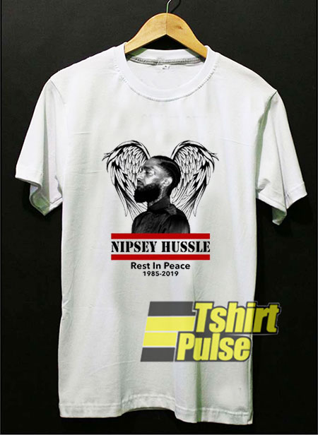 Nipsey Hussle Rest In Peace t-shirt for men and women tshirt