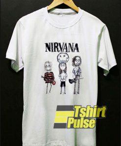 Nirvana Cartoon Artwork t-shirt for men and women tshirt