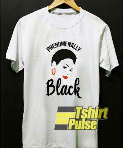Phenomenally Black Proud Diva t-shirt for men and women tshirt