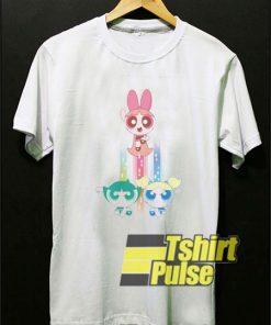 Power Puff Girls Action t-shirt for men and women tshirt
