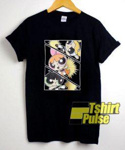 Powerpuff Girls Action Poster t-shirt for men and women tshirt