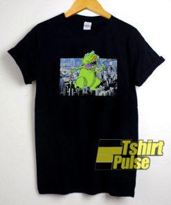 Reptar Rampaging City t-shirt for men and women tshirt