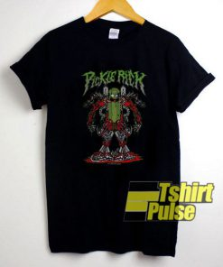 Rick Morty Pickle Rick Robot t-shirt for men and women tshirt