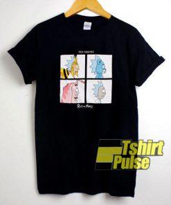 Rick Squares Rick Sanchez t-shirt for men and women tshirt