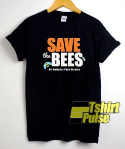 Save The Bees Park Service t-shirt for men and women tshirt