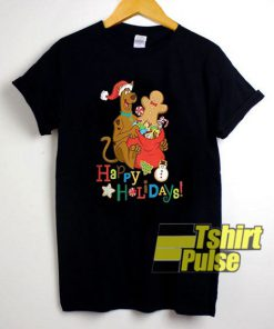 Scooby Doo Happy Holidays! t-shirt for men and women tshirt