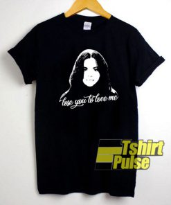 Selena Gomez Lose You to Love Me t-shirt for men and women tshirt