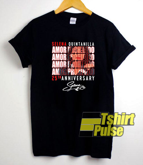 Selena Quintanilla 25th Annive t-shirt for men and women tshirt