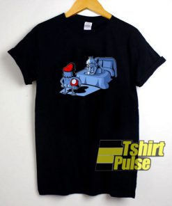 Sex And Shrooms Super Mario t-shirt for men and women tshirt