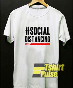 #Social Distancing Line Art t-shirt for men and women tshirt
