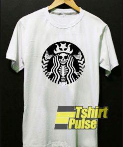 Starbucks Skull Logo t-shirt for men and women tshirt