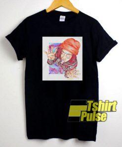 Trippie Redd Painting t-shirt for men and women tshirt