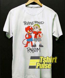 Trippie Redd x Ransom Friends t-shirt for men and women tshirt