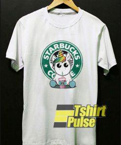 Unicorn Drink Starbucks Coffee t-shirt for men and women tshirt