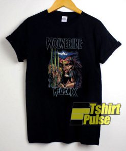Wolverine Weapon X Character t-shirt for men and women tshirt