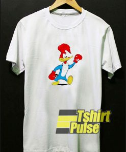 Woody Woodpecker Boxing t-shirt for men and women tshirt