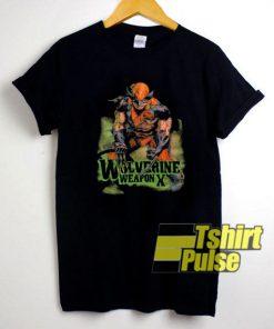 X-Men Wolverine Weapon X t-shirt for men and women tshirt