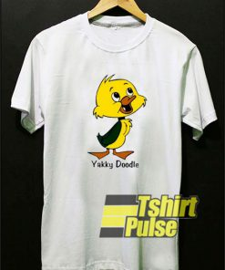 Yakky Doodle Funny Cartoon t-shirt for men and women tshirt