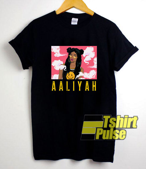 Aaliyah Graphic Poster t-shirt