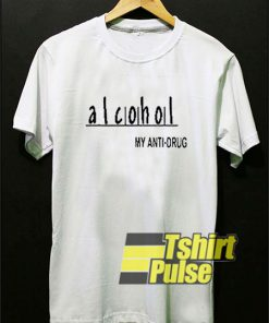 Alcohol Anti Drug Warning t-shirt for men and women tshirt