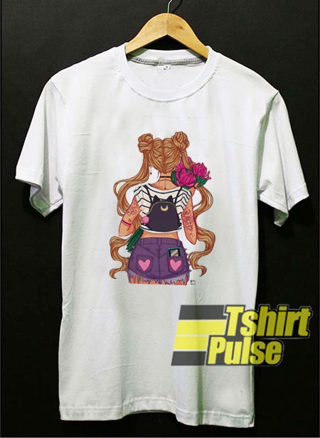 Anime Sailor Moon Print t-shirt for men and women tshirt