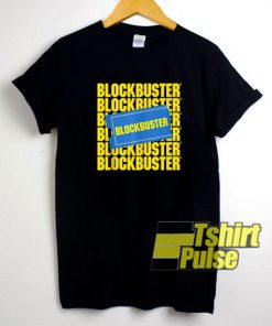 Blockbuster Movie Parody t-shirt
