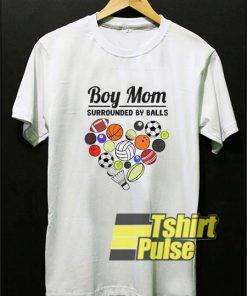 Boy Mom By Balls t-shirt