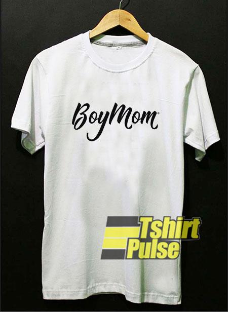 Boy Mom Script t-shirt