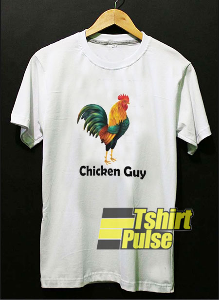 Chicken Guy Rooster t-shirt