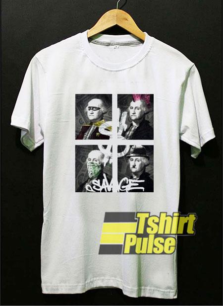 Dollar Bill Funny Art t-shirt for men and women tshirt