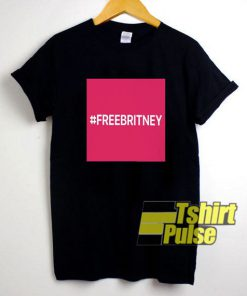 #FreeBritney Art t-shirt for men and women tshirt
