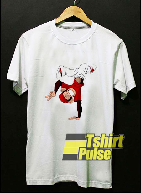 Funny Monkey Dancing Hip Hop t-shirt for men and women tshirt