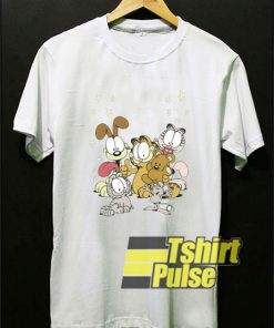 Garfield and Friends t-shirt for men and women tshirt