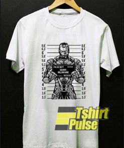 Genius Billionaire t-shirt for men and women tshirt