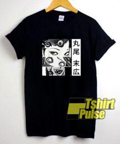 Graphic Tomie Junji Ito t-shirt