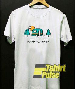 Happy Camper Cartoon t-shirt
