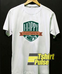 Happy Camper Illustration t-shirt