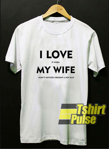 I Love My Wife t-shirt for men and women tshirt