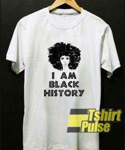 Iam Black History Month t-shirt for men and women tshirt