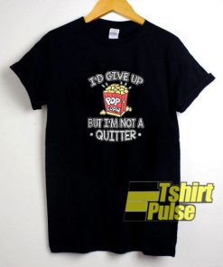 I'd Give Up Popcorn t-shirt for men and women tshirt
