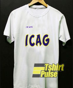 I'm With ICAG t-shirt for men and women tshirt