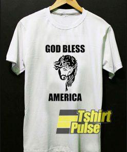 Jesus God Bless America t-shirt for men and women tshirt